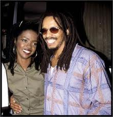 Rohan Marley & Lauryn Hil in happier days