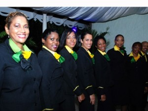 Hostesses Fly Jamaica