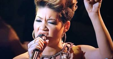 "TESSANNE CHIN SINGS BOB MARLEY'S ""REDEMPTION SONG"" AND WOWS THE"