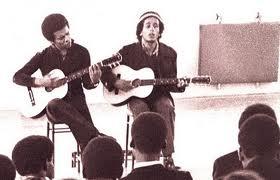 Bob Marley and Johnny Nash