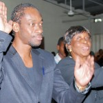 Bounty Killer and his late mother Miss Ivy in church