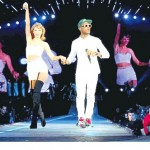 CHART TOPPER OMI (CHEERLEADER) JOINS POP STAR TAYLOR SWIFT ON STAGE!