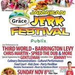 THIRD WORLD, BARRINGTON LEVY, GENTLEMAN AND MORE, FOR THE GRACE JAMAICAN JERK FESTIVAL THIS SUNDAY IN SUNRISE, FLORIDA!