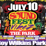 "NEW YORK CITY ABUZZ FOR THE FIRST ""SOUND FEST VIBEZ IN THE PARK"" SUNDAY, JULY 10!"