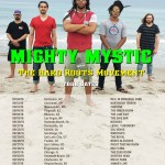 ROOTS SINGER MIGHTY MYSTIC EMBARKS ON BIGGEST U.S.A. TOUR, STARTING JULY 30!
