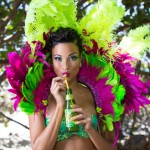 """MISS JAMAICA UNIVERSE 2014, KACI FENNELL, IS THE """"FACE OF JAMAICA"""" AT THE LABOR DAY WEEKEND CELEBRATIONS IN NEW YORK CITY!"""