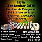 """THE ANNUAL """"JAHARVEST FEST""""  BENEFIT FESTIVAL, RETURNS TO STOCKTON, CALIFORNIA, SEPTEMBER 24!"""