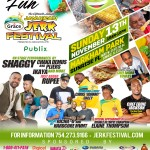 CELEBRITIES SPICE UP THE CULINARY PAVILION AT THE 15th ANNUAL GRACE JAMAICAN JERK FEST, SUNDAY, NOVEMBER 13, IN SUNRISE, FLORIDA!