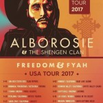 "VP RECORDS ANNOUNCES ALBOROSIE's ""FREEDOM & FYAH U.S.TOUR!"""